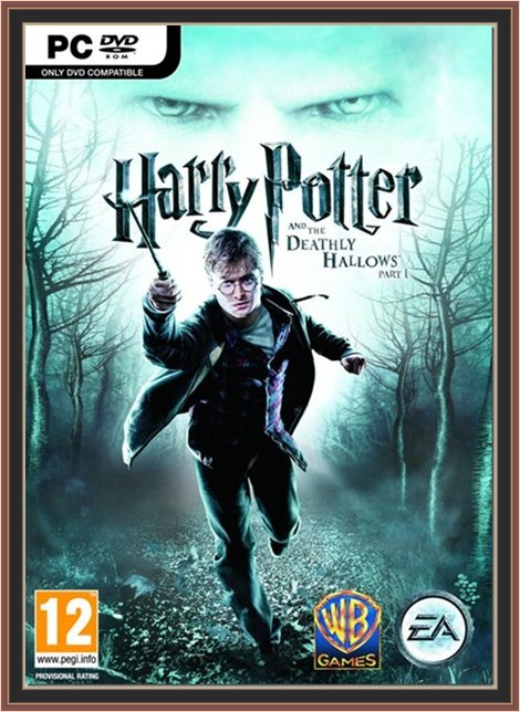 Harry Potter And The Deathly Hallows Part 1 Game Cover