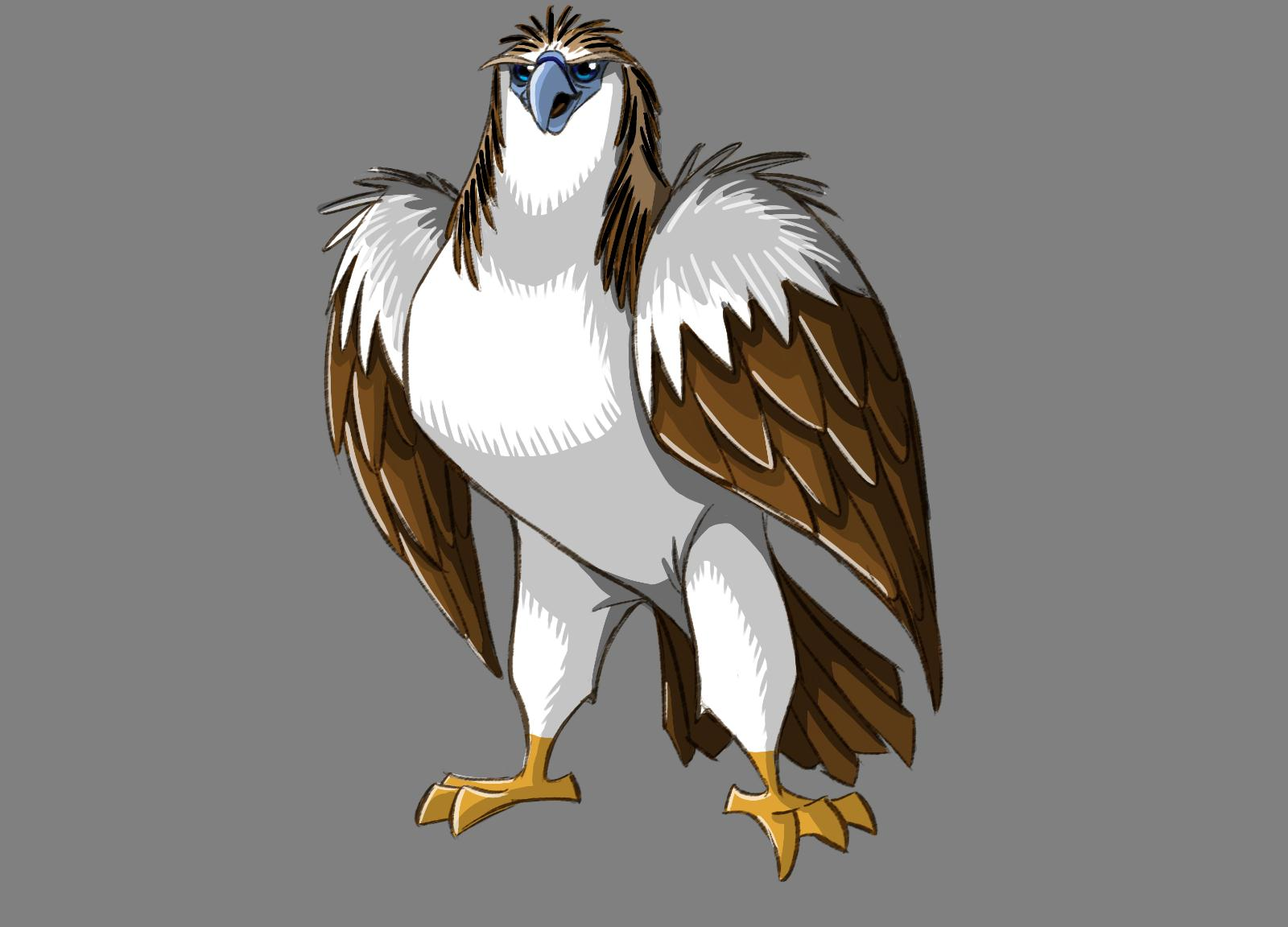 joma santiago  eagle and owl character designs
