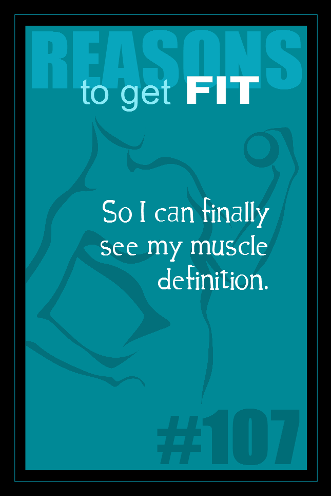 365 Reasons to Get Fit #107