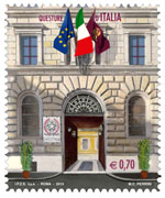 Italy: Police Headquarters in Italy - http://e-filatelia.poste.it/