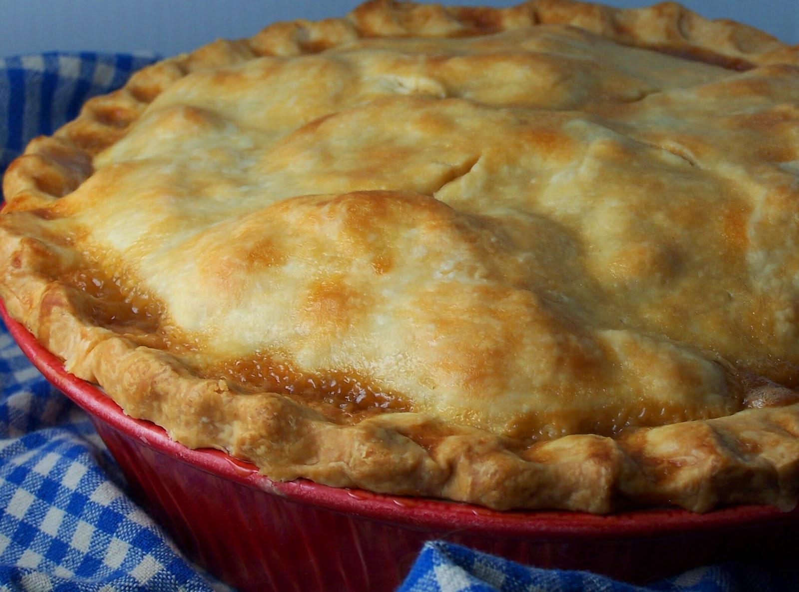 Vanilla Basil: What Does Fall Taste Like? Salted Caramel Apple Pie