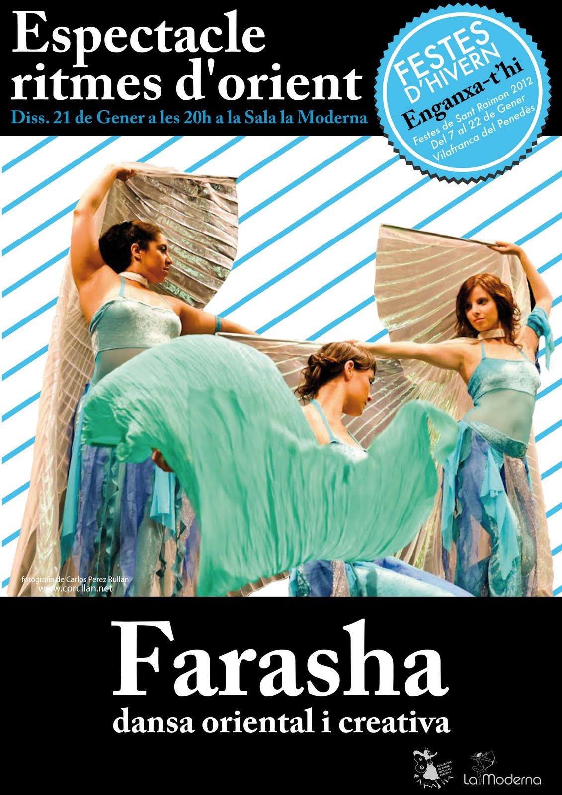 Farasha, dansa oriental i creativa: de gener 2012