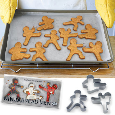 Quirky Foodie Gift Ideas for Friends and Family: Ninja-Bread Men Cookie Cutters
