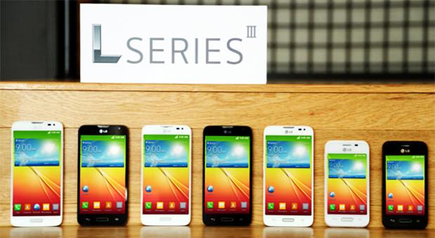 Smartphones Serie L III de LG fueros presentados