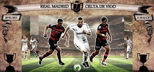 قائمة ريال مدريد لمُواجهة سيلتا فيغو  9/1/2013