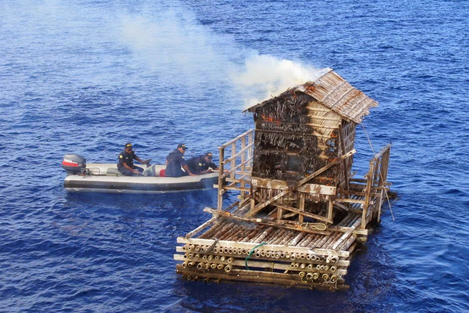 Pengawasan Udara Diperlukan Untuk Menangkap Nelayan Ilegal