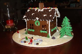 photo of ginger bread house