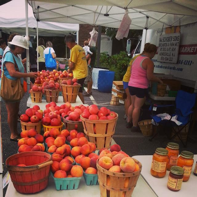 Organic fruit Margate Farmer;s Market
