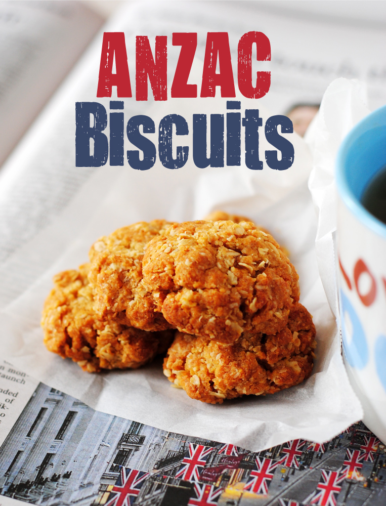 Ooh, Look...: Baked in tradition: ANZAC biscuits for a ...