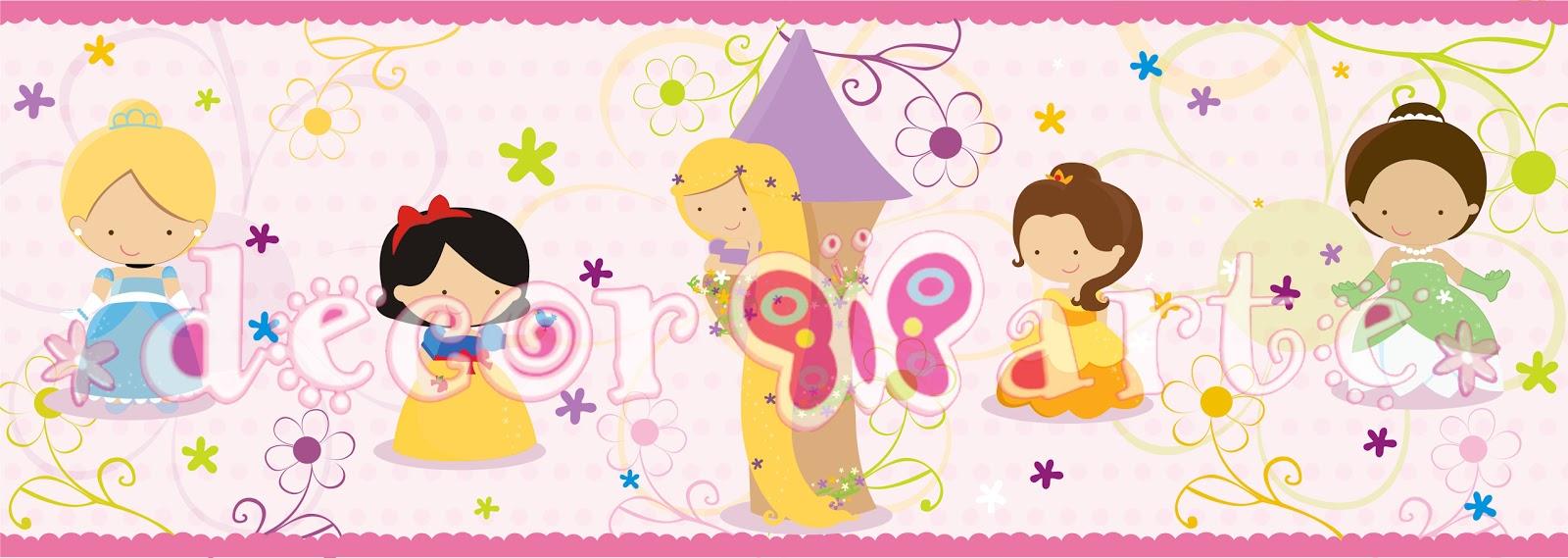 Cenefas infantiles de las princesas para imprimir imagui - Cenefas infantiles para imprimir ...