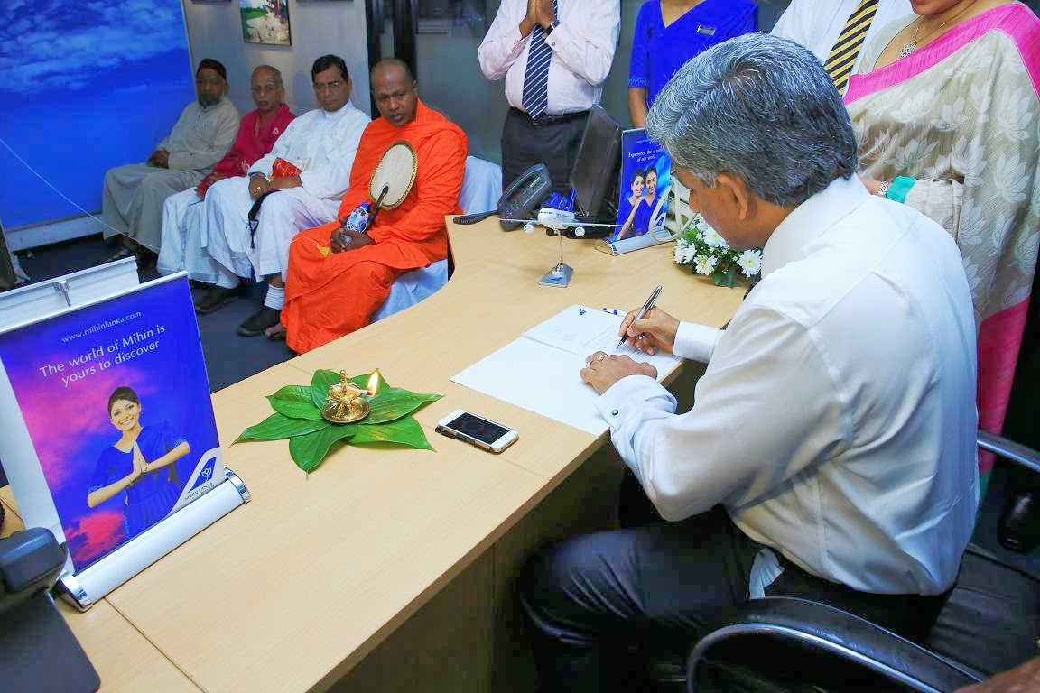 Nishantha Ranatunga inaugurated as ChairmanCEO of Mihin Lanka