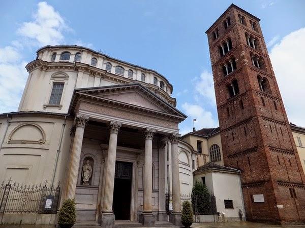Turin Italie Via Garibaldi balade santuario della consolata