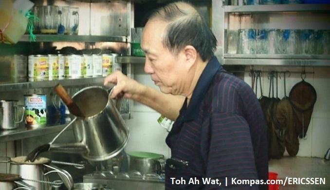 Sarapan Gratis Bagi Warga Singapura Yang Kurang Beruntung Di Kedai Di Ang Mo Kio