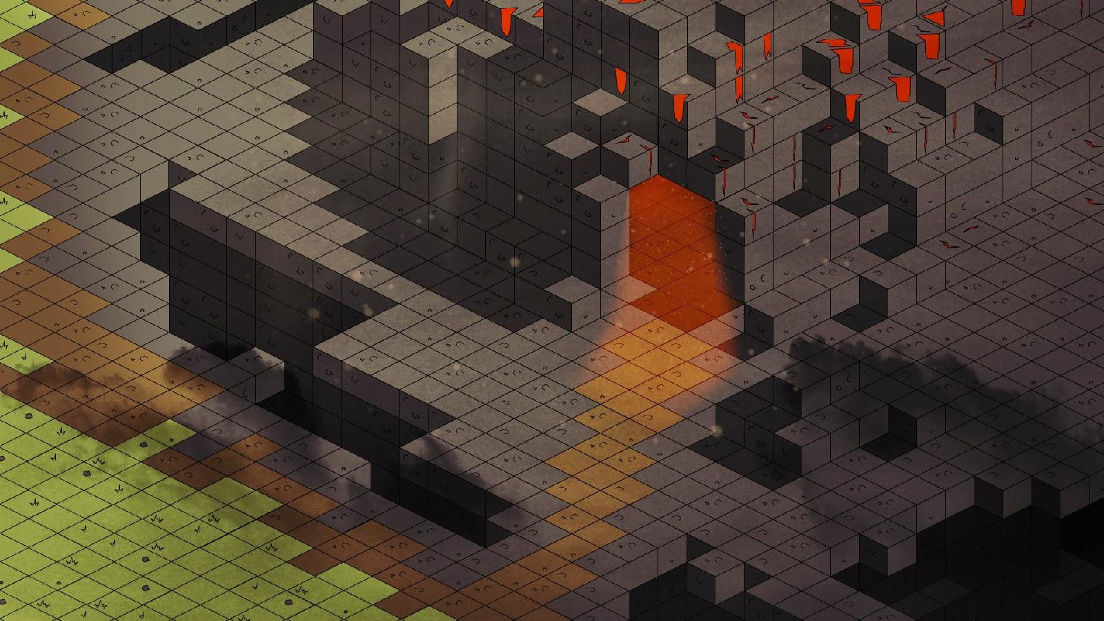 Brick Landscape - Guild Wars 2: Mount Maelstrom