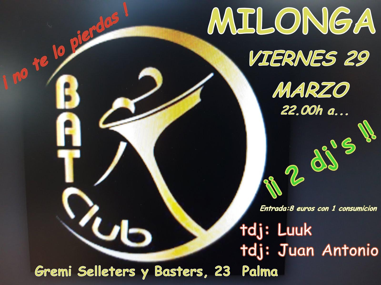 milonga viernes 29