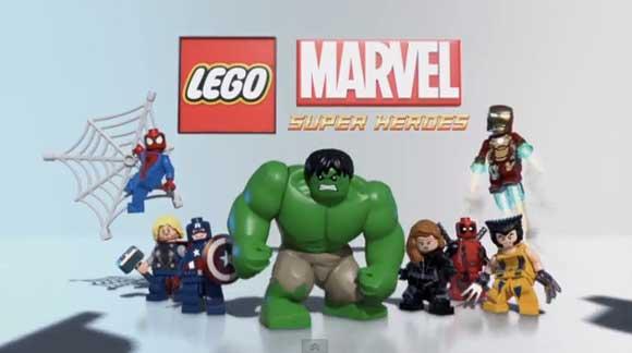 Lego Marvel Superheroes Teaser