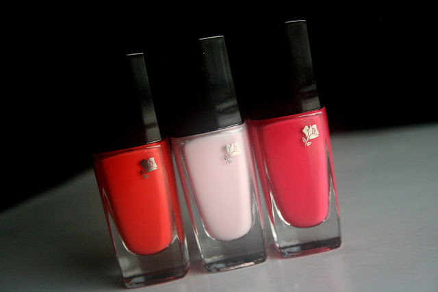 Lancome In Love Spirng 2013 Collection - 301M Sugar Rose, 335N Rose Macaron, 134B Peach Mélodie