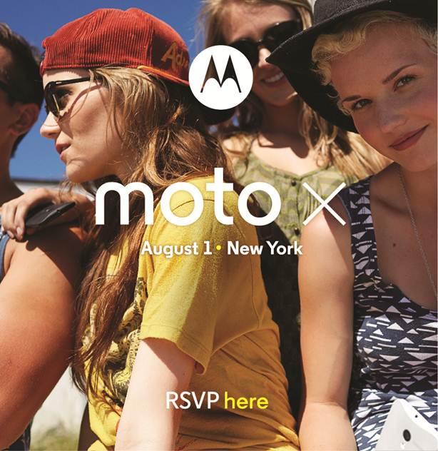 Moto X Press Invite