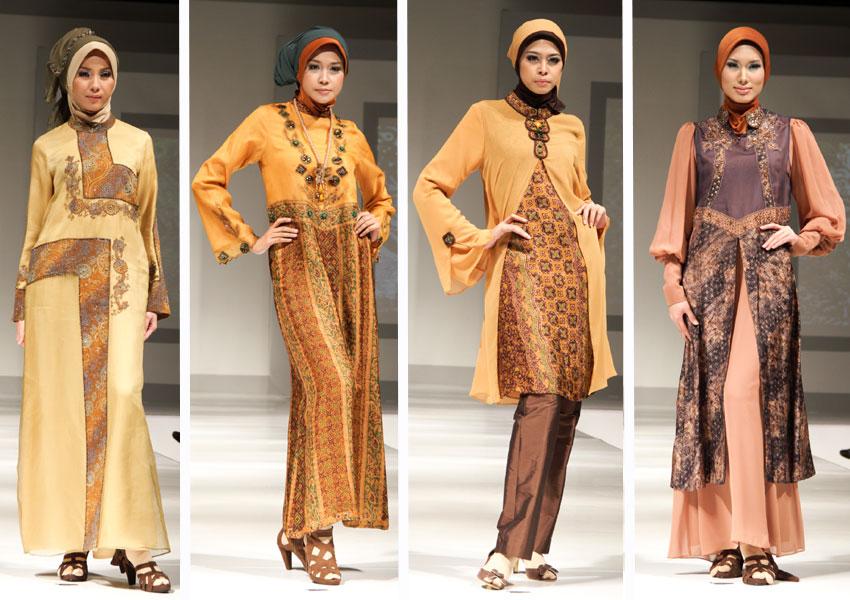 Baju Batik Muslim