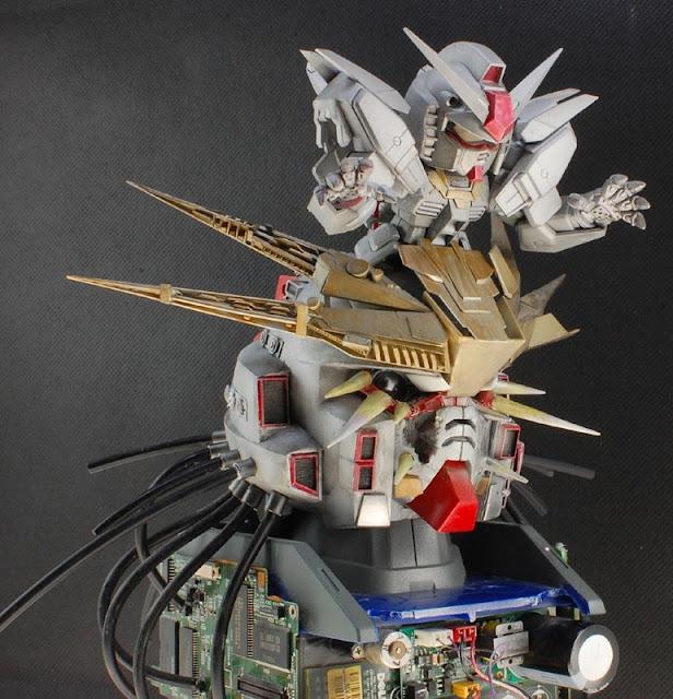 SD Devil Gundam Customized by the modeler