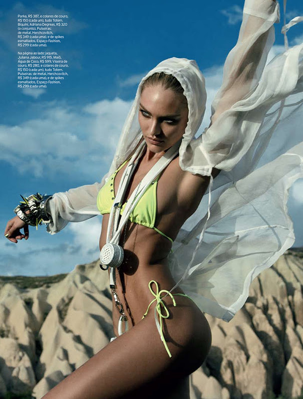 Candice Swanepoel by Eduardo Rezende for Elle Brazil, September 2012