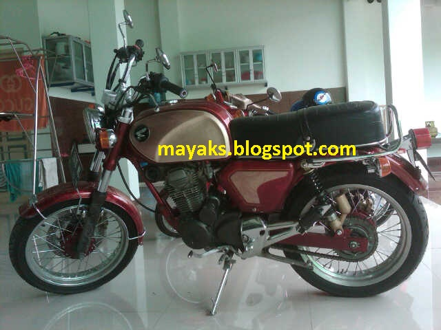Modifikasi Honda CB Dream 305 :Dijual title=