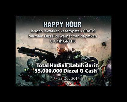 Event Dizzel Revolution Gemscool Bulan Desember 2014