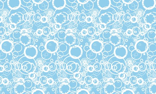 Blue Grungy Circles