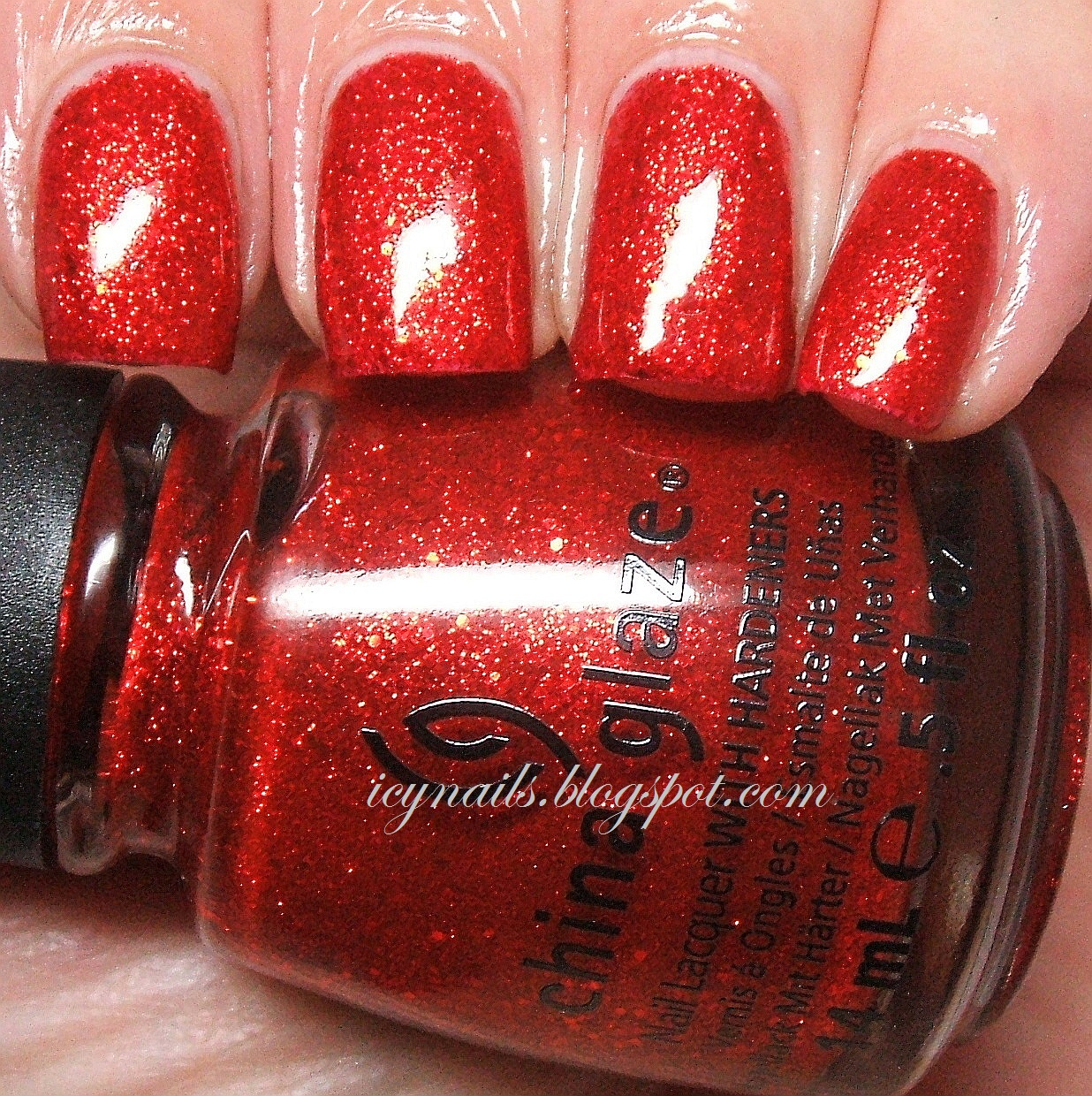 China Glaze Ring In The Red And A Comparison With Ruby Pumps Notes From My Dressing Table