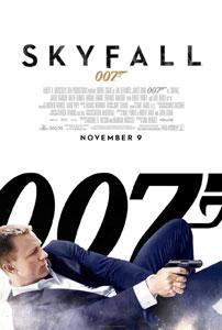 Poster americano de Skyfall