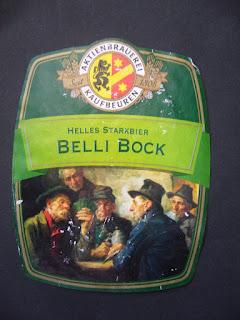 Belli Bock beer