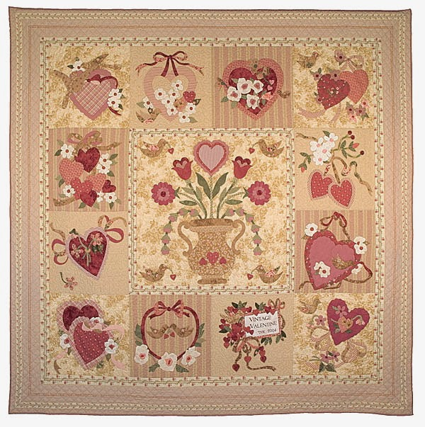 Vintage Valentine pattern by Verna Mosquera of the Vintage Spool