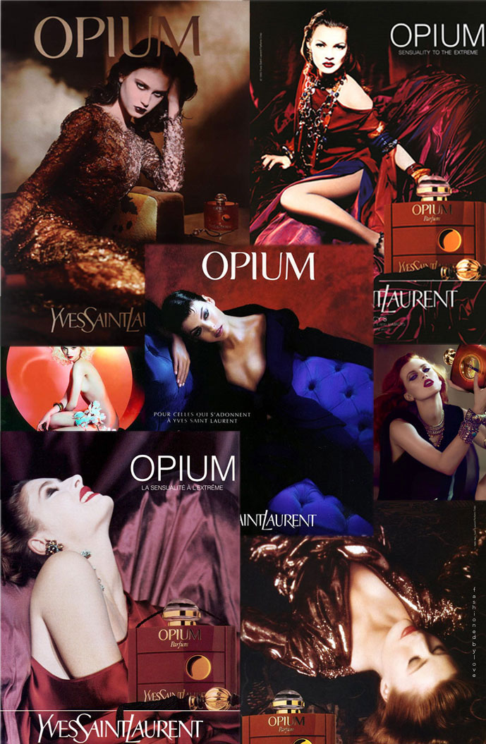 Yves Saint Laurent Opium Campaigns