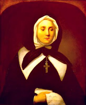 Today is the feast of st marguerite bourgeoys the founder of the