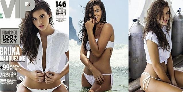 Revista VIP Novembro 2014 – Bruna Marquezine