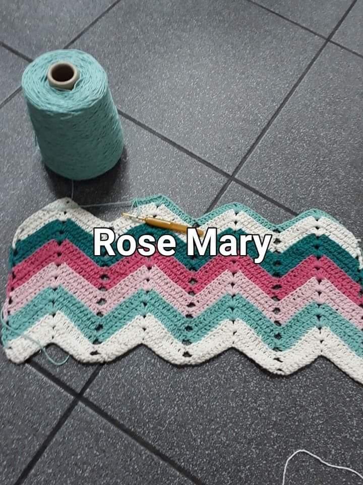 TRICÔ À MÁQUINA ROSE MARY E CROCHET