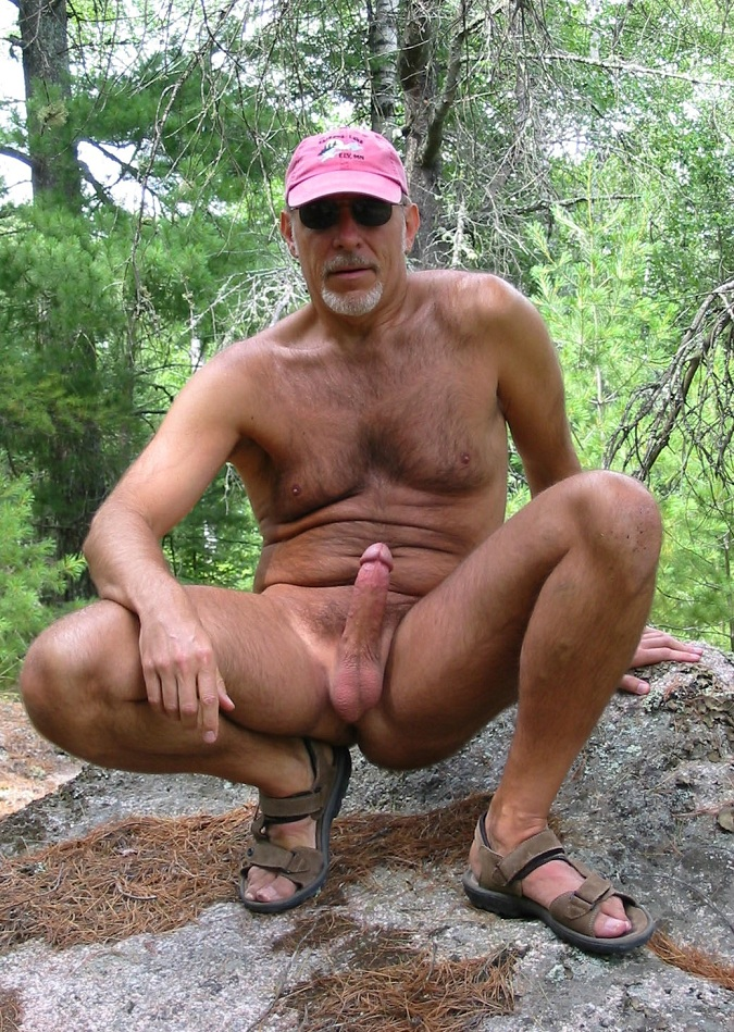 hot mature nude men