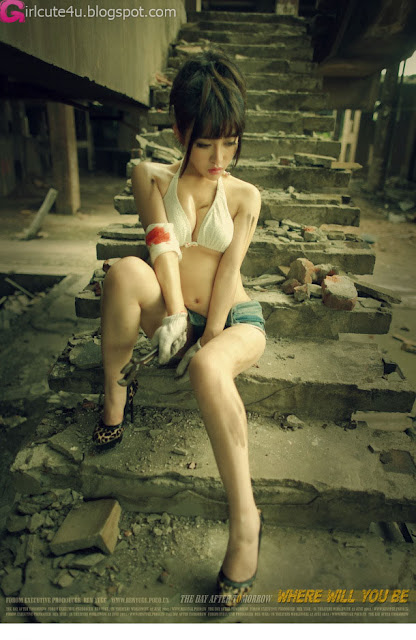 2 Guo Yunmeng - Ruins-very cute asian girl-girlcute4u.blogspot.com