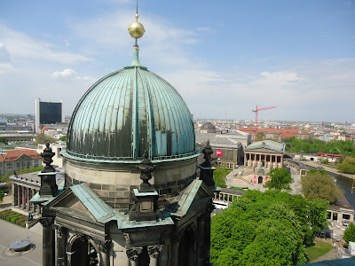 View of Museum Island from the Cathedral dome, Berlin