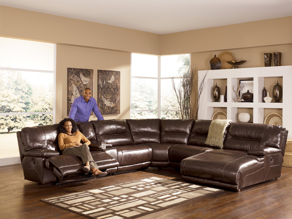Exhilaration Chocolate Sectional By Ashley Furniture Reveiws