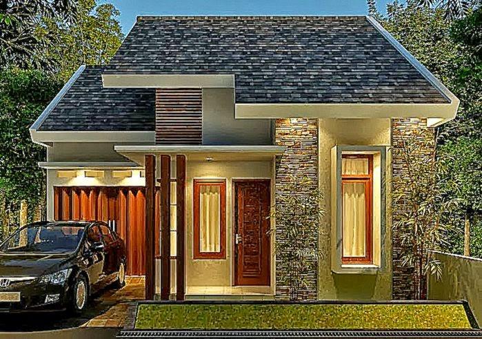 Desain Rumah Tampak Depan Dengan Arsitektur Menawan