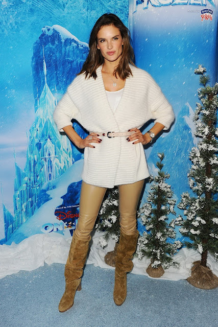 Actress, Model, @ Alessandra Ambrosio - Disney On Ice in LA