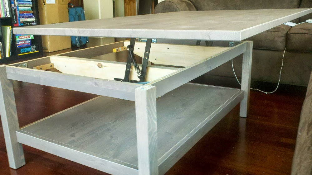 Hemnes Lift Top Coffee Table