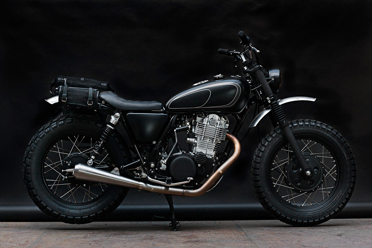 Yamaha Sr400 Gibbon Slap Return Of The Cafe Racers