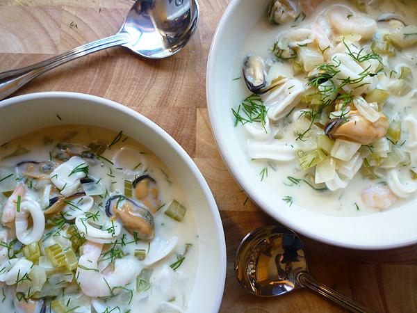 Creamy Seafood Stew Recipe