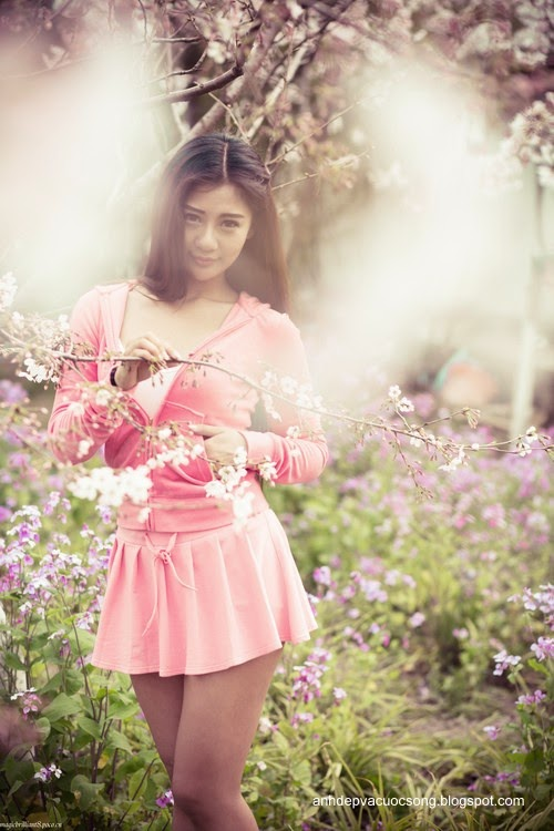Váy hồng xinh xắn 4