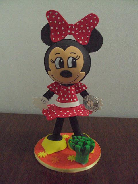 Mis Fofuchas 2013 Artfoamicol: Pareja Fofuchas Mickey+Minnie Mouse ...