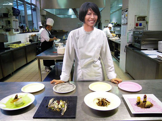 Chef Sandra Bubù