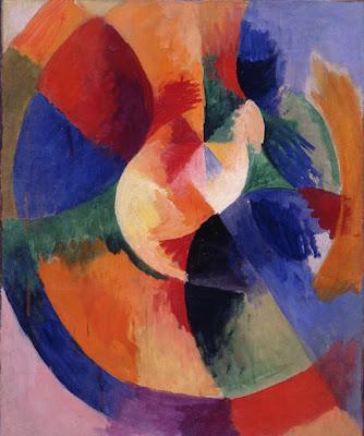 Robert Delaunay - Formes circulaires,soleil,1912-1913