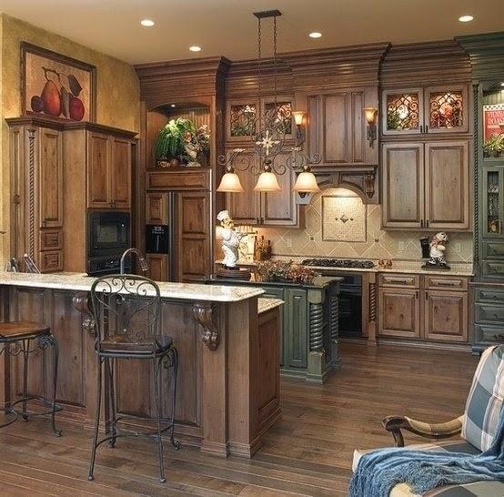 Decoraci n de cocinas rusticas cocina y muebles - Disenos de cocinas rusticas ...